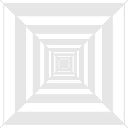 Motif concentrique carré créant une profondeur, une perspective et un concept d'entreprise de conception d'illusion d'optique Texte de copie vide pour le modèle de maquette de matériel promotionnel de bannières Web