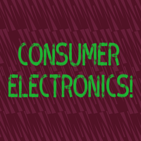 Conceptual hand writing showing Consumer Electronics. Concept meaning consumers for daily and noncommercial purposes Seamless Isosceles Triangle Maroon Tone in Abstract Pattern Reklamní fotografie