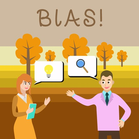 Writing note showing Bias. Business concept for inclination or prejudice for or against one demonstrating group Reklamní fotografie