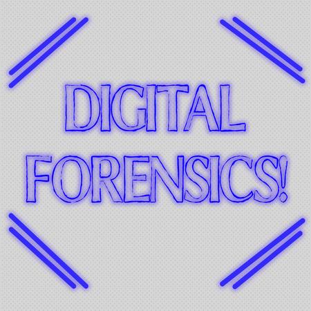Word writing text Digital Forensics. Business photo showcasing investigation of material found in digital devices Seamless Endless Infinite Tiny Gray Dots Points Pattern Filling Up the Space Stockfoto