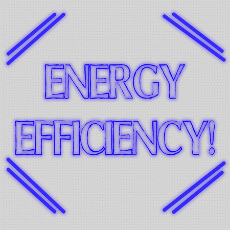 Word writing text Energy Efficiency. Business photo showcasing reduce the amount of energy required to provide product Seamless Endless Infinite Tiny Gray Dots Points Pattern Filling Up the Space