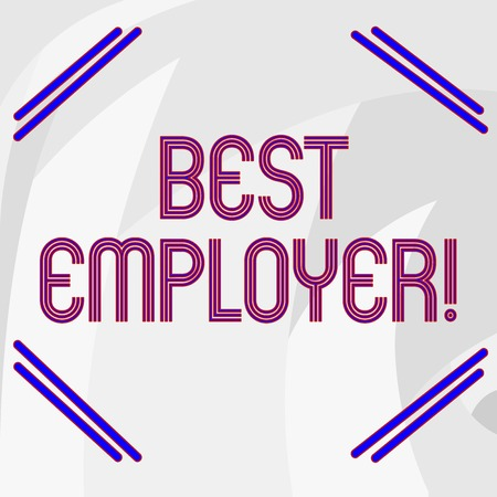 Word writing text Best Employer. Business photo showcasing creating a culture where employees feel valued and appreciated Abstract photo of Gray Circular Spiky Edge Blade Teeth for Industrial