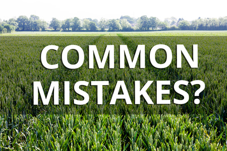 Handwriting text Common Mistakes question. Conceptual photo repeat act or judgement misguided or wrong 版權商用圖片