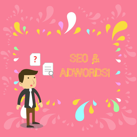 Conceptual hand writing showing Seo And Adwords. Concept meaning they are main tools components of Search Engine Marketing
