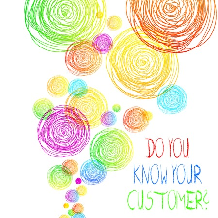 Handwriting text Do You Know Your Customer Question. Conceptual photo service identify clients with relevant information Imagens