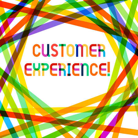 Writing note showing Customer Experience. Business concept for product of interaction between organization and buyer Stok Fotoğraf