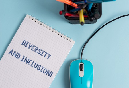Konzeptionelle Handschrift zeigt Vielfalt und Inklusion. Begriff Sinne Reichweite huanalysis Unterschied umfasst Rasse ethnische Geschlecht