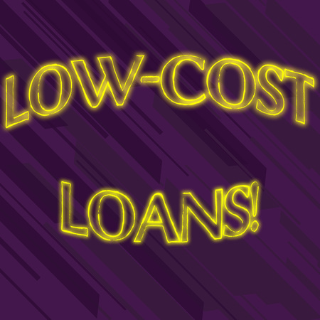 Writing note showing Low Cost Loans. Business concept for loan that has an interest rate below twelve percent Seamless Diagonal Violet Stripe Paint Slanting Line Repeat Pattern