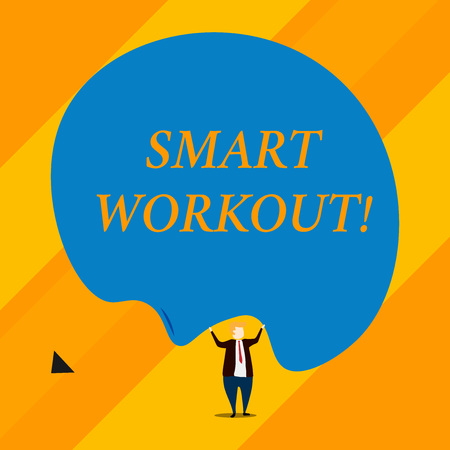 Handwriting text Smart Workout. Conceptual photo set a goal that maps out exactly what need to do in being fit