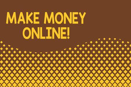 making money on the internet