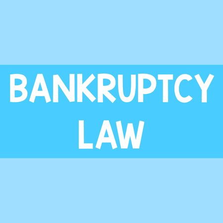 Writing note showing Bankruptcy Law. Business concept for Designed to help creditor in getting the asset of the debtor Square rectangle paper sheet loaded with full creation of pattern theme 免版税图像