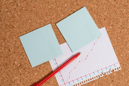 Desk notebook paper office cardboard paperboard study supplies table chart