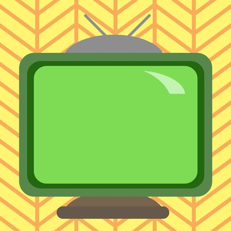 Square rectangle old multicoloured painting television picture wood design Design business concept Empty template copy space text for Ad website isolated