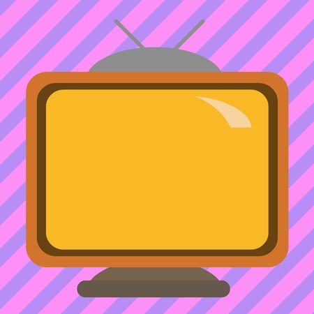 Square rectangle old multicoloured painting television picture wood design Business concept Empty template copy space isolated Posters coupons promotional material Zdjęcie Seryjne - 134174372
