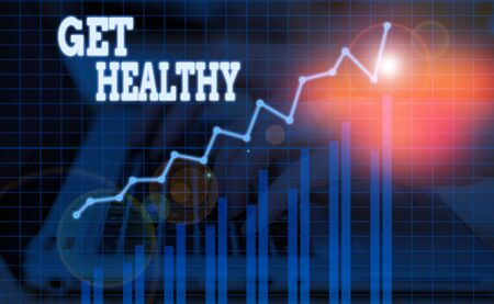 Word writing text Get Healthy. Business photo showcasing possessing or enjoying good health or a sound mentality