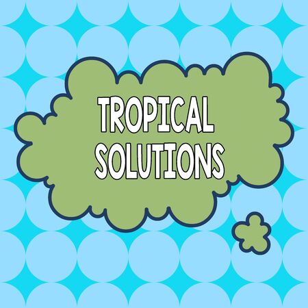 Text sign showing Turnkey Solutions. Business photo showcasing immediately easily ready to use upon implementation Asymmetrical uneven shaped format pattern object outline multicolour design