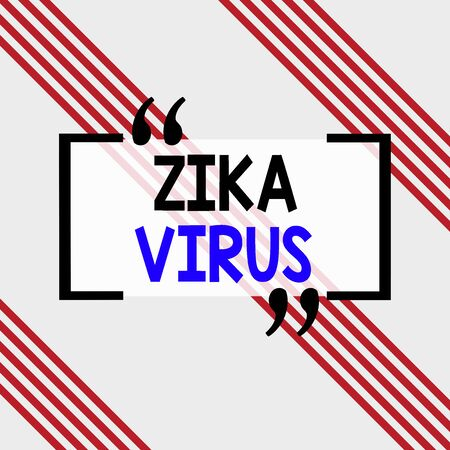Writing note showing Zika Virus. Business concept for caused by a virus transmitted primarily by Aedes mosquitoes Square rectangle paper sheet loaded with full creation of pattern theme