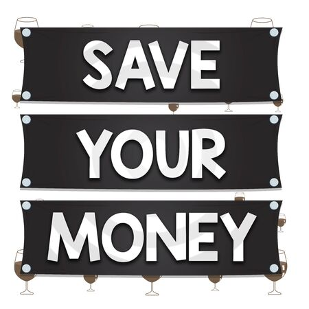 Text sign showing Save Your Money. Business photo text keep your savings in bank or stock to protect it Dont waste Wooden panel attached nail colorful background rectangle lumber plank wood