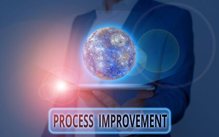 Word writing text Process Improvement. Business photo showcasing ongoing effort to improve products services or processes