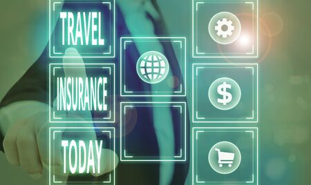 Handwriting text Travel Insurance. Conceptual photo covers the costs and losses associated with traveling