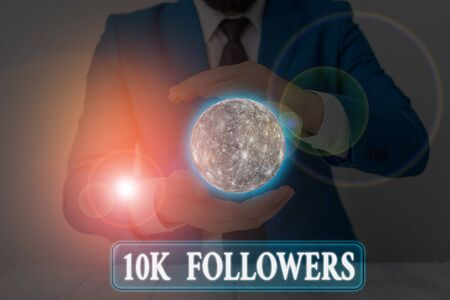 Handwriting text writing 10K Followers.