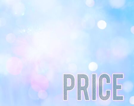 Handwriting text writing Price. Conceptual photo the amount of money expected or required in payment for something
