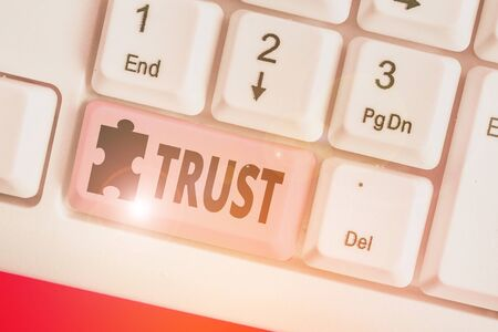 Text sign showing Trust. Business photo text firm belief in reliability truth or ability someone something Family