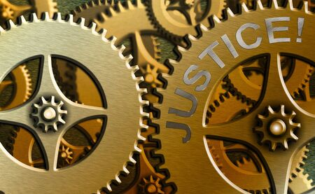 Word writing text Justice. Business photo showcasing impartial adjustment of conflicting claims or assignments
