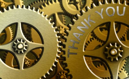 Word writing text Thank You. Business photo showcasing a polite expression used when acknowledging a gift or service
