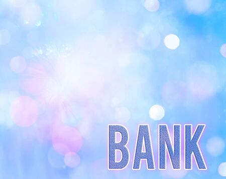 Handwriting text writing Bank. Conceptual photo An organization where showing and businesses can invest borrow money