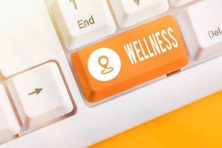Handwriting text Wellness. Conceptual photo state of being in good health especially as actively pursued goal