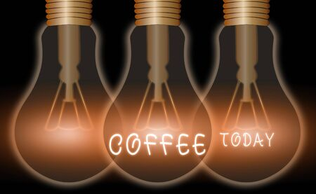 Text sign showing Coffee. Business photo text hot drink made from the roasted and ground seeds of a tropical shrub