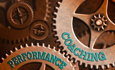 Writing note showing Performance Coaching. Business concept for Facilitate the Development Point out the Good and Bad