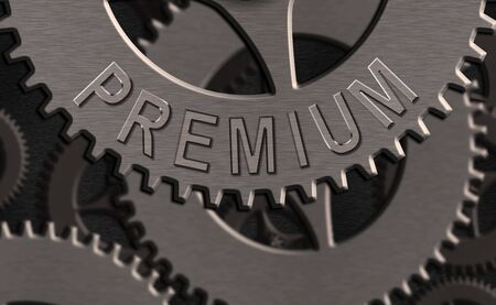 Writing note showing Premium. Business concept for something or someone of greater or superior quality A reward