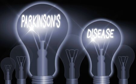 Word writing text Parkinsons Disease. Business photo showcasing chronic progressive neurological disease of later life