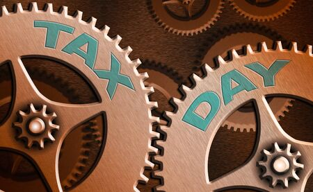 Text sign showing Tax Day. Business photo text due for individual income tax that should be submitted to the government