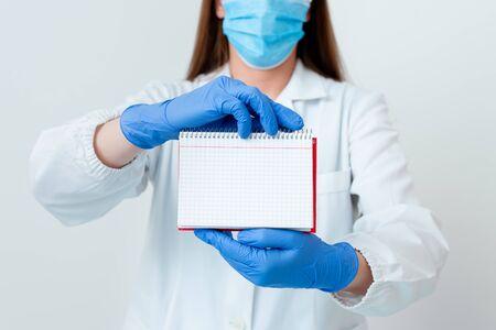 Laboratory Technician Featuring Empty Sticker Paper Accessories Smartphone
