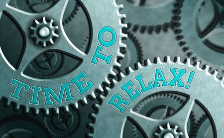 Text sign showing Time To Relax. Business photo showcasing resting and keep calm after doing something tiring or stress