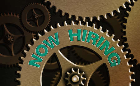 Conceptual hand writing showing Now Hiring. Concept meaning an act of starting to employ someone qualified for the position System administrator control, gear configuration settings Stockfoto