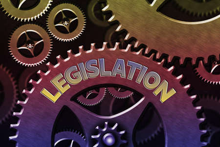 Word writing text Legislation. Business photo showcasing the exercise of the power and function of making rules System Administrator Control, Gear Configuration Settings Tools Concept