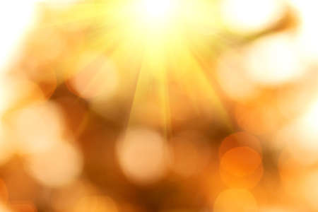 natural bokeh with sun for background or backdrop Stock Photo - 17229921