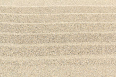 Sandy beach background with lines. Detailed sand texture. Top view Stock Photo - 18246589