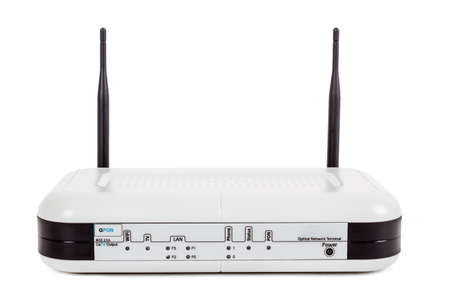 end user: Passive Optical network, End user fiber optic GPON terminal with wifi and catv connection