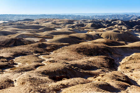 paisaje lunar: fantrastic Namibia paisaje lunar regi�n de Erongo - en el camino a Swakopmud
