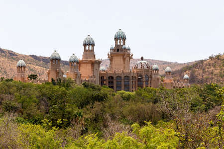 lost city: panorama of Sun City, The Palace of Lost City, Luxury Resort in South Africa
