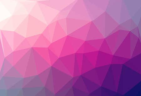 多色抽象的な幾何学的なしわくちゃ三角形低ポリゴン スタイルの図のグラフィックの背景