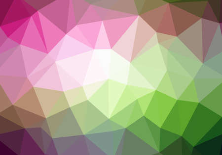 rumpled: multicolor abstract geometric rumpled triangular low poly style illustration graphic background