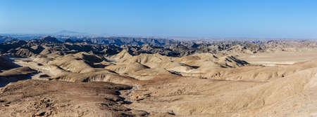 moonscape: fantrastic Namibia moonscape Erongo region - on the way to Swakopmud Stock Photo
