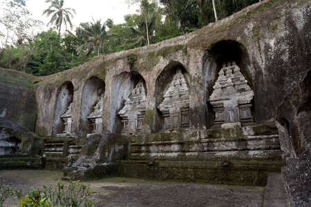 11th century: unung Kawi Temple. Gunug Kawi is an ancient temple situated in Pakerisan River, near Tampaksiring village in Bali. The archaeological complex is carved out of the living rock, dating to 11th century.