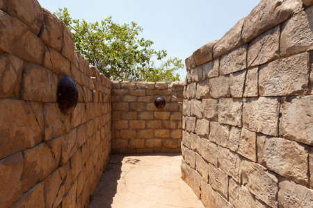 atraction: Maze, labyrinth in Lost City, Sun City, South Africa
